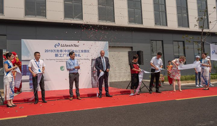 WashTec China: Grand opening of the new site.