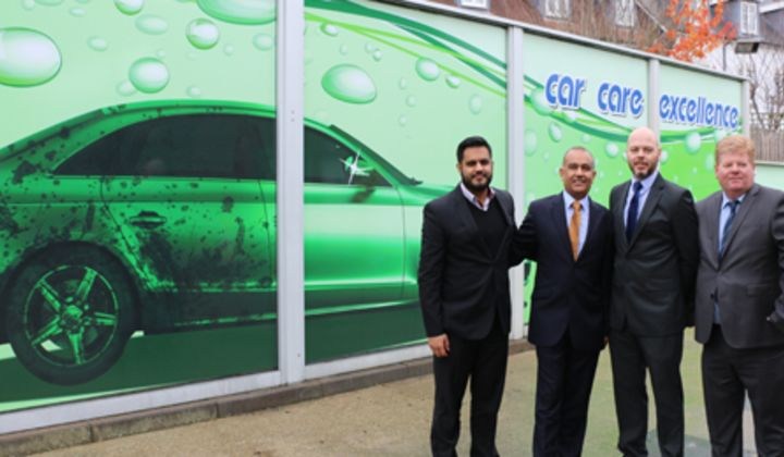 The Park Garage Group has invested more than £1m in car valeting.